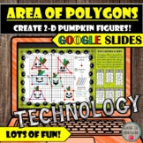 FREE Area of Polygons in Coordinate Plane Halloween Activi