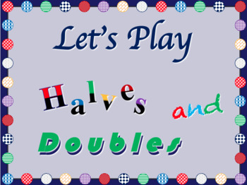FREE!  Around the World - Halves and Double Edition - Strengthen Mental Math