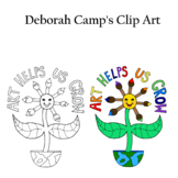 FREE Art Helps Us Grow Clip Art