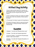 FREE Artifact Bag / Inferencing Activity