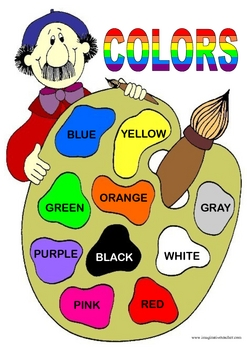 FREE Artist Color Chart