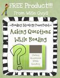 Asking Questions While Reading Activity