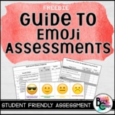 FREEBIE Assessment guide using Emojis, Checklists and Exit