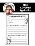 FREE Astronaut Application