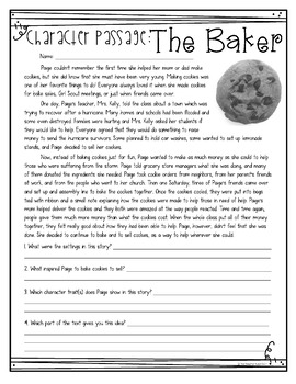 FREE At Home Reading Passages for 3rd - 5th Grade | Distance Learning Reading