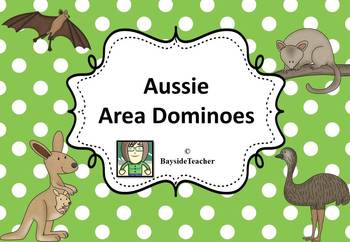 FREE Aussie Area Dominoes - Square, Rectangle & Triangle
