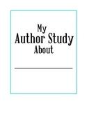 FREE Author Study Printables