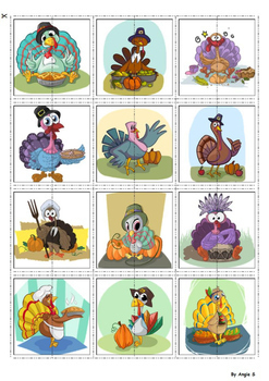 Turkey Activity for Thanksgiving FREE