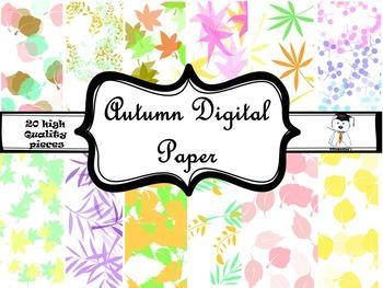 FREE Beautiful Autumn Digital Paper