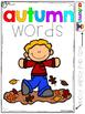 FREE Autumn Word Bank and Folder Sample