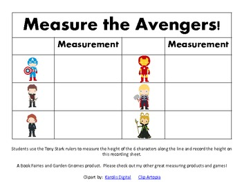 FREE Avengers Non-Linear Measurement