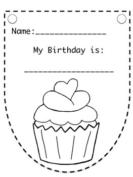 FREE - BACK TO SCHOOL BIRTHDAY BANNER ACTIVITY (SEQUENCE)