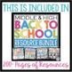 FREE BACK TO SCHOOL DESK PLANNER