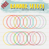 FREE! BANNER CLIPART SET001