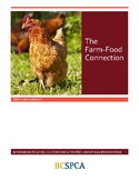 FREE BCSPCA Animal Lessons and Activities- The Farm Food Connection -Gr. 4-7