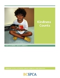 FREE BCSPCA Animal Lessons and Activities- Kindness Counts