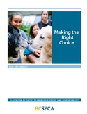 FREE BCSPCA Animal Lessons and Activities- So You Think Yo