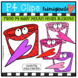 FREE BIGGY MOUTH Heart Bucket (P4 Clip Trioriginals) VALEN