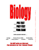 BIOLOGY FINAL EXAM 2016 . . . 112  PAGES  USE AS PRE-TEST POST-TEST