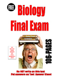 BIOLOGY FINAL EXAM 2019 . . . 112  PAGES  USE AS PRE-TEST POST-TEST