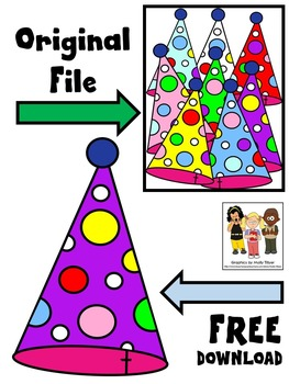FREE BIRTHDAY CLIP ART * PARTY HATS