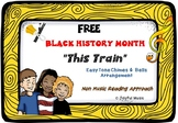 FREE BLACK HISTORY MONTH SPIRITUAL Easy Tone Chimes & Bells Arr. THIS TRAIN