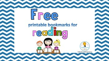 READING BOOKMARKS (FREE).