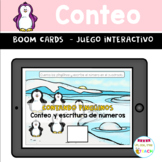 FREE! BOOM CARDS Conteo Counting Winter