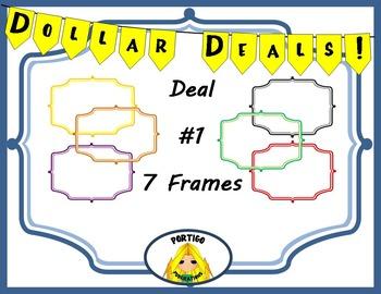 Dollar Deals #1: Frame Borders