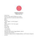 FREE Babbling Babies Materials List