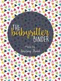 {FREE} Babysitter Binder