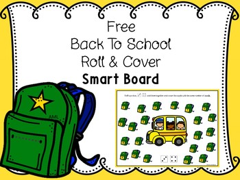 FREE Back To School Roll And Cover For Smart Board Includes Paper Copy
