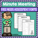 Minute Meeting Needs Assessments (Free!)