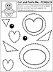 FREE Cut & Paste Activities For Preschool and Early Elementary