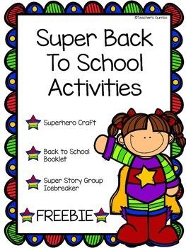 FREE Back to School Activities