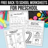 FREE Back to School Activities For Kindergarten (Math & Li