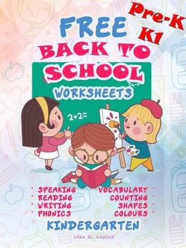 PRE-K and KINDERGARTEN Back to School Activities Pack