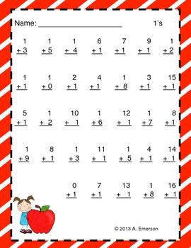 FREE Back to School Addition and Subtraction