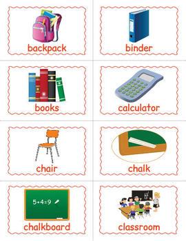 FREE Back to School Bingo