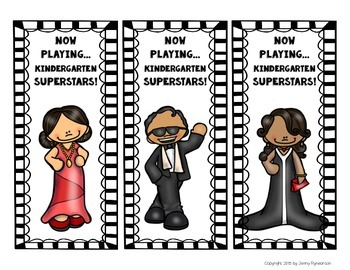 FREE Back to School Bookmarks! Grades K-6! *Hollywood Theme*