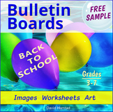 FREE - Back to School Bulletin Board Ideas