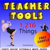 "FREE - Back to School Bundle   Teacher Tools   ""Sacagawea"" (K-12)"