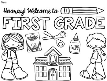 free back to school coloring pages prek5 beginning
