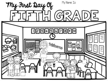 FREE Back to School Coloring Pages! {Pre-K-5} {Beginning ...