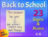 FREE - Back to School Bulletin Board Idea