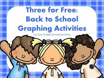 FREE Back to School Graphing Activities