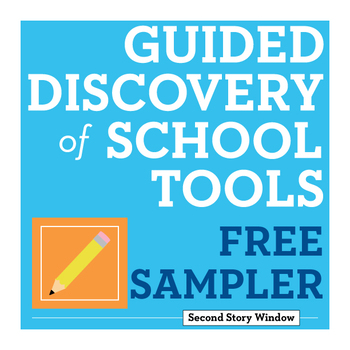 FREE Back to School Guided Discovery of Pencils • First Week of School