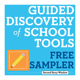 FREE Back to School Guided Discovery of Pencils • First We