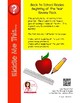 FREE Back to School Math Review