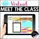Free Virtual Meet the Teacher Google Slides & Meet the Class